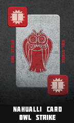 Serpent Stones Owl Strike Card